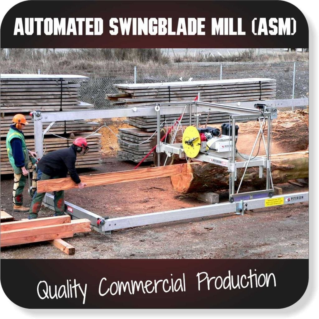 Portable Sawmills for sale - Automated Swingblade Mill