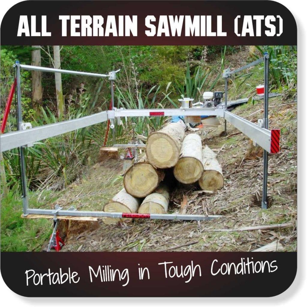 Portable Sawmills for sale - All Terrain Sawmill
