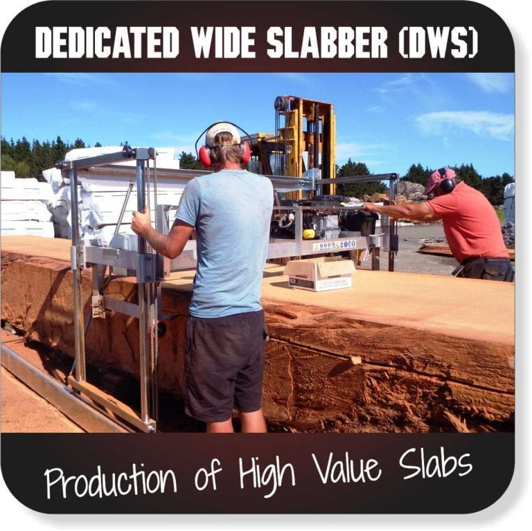 Portable Sawmills for sale - Dedicated Wide Slabber
