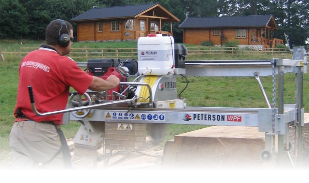 Peterson Portable Sawmills - The World's Original Portable Swingblade Sawmill