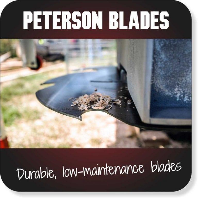 Peterson Blades - Durable, low maintenance swingblades