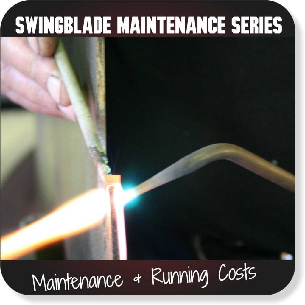 Swingblade Maintenance Series - Maintenance and Running Costs