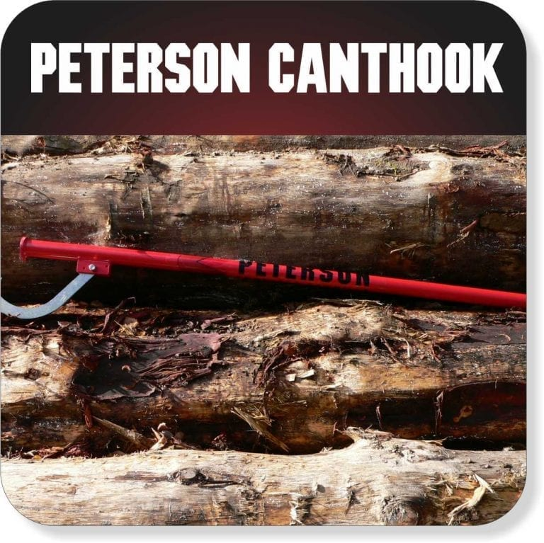 Move your logs with a Peterson Canthook