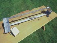 Clip-on Slabber for Peterson Portable Sawmill.