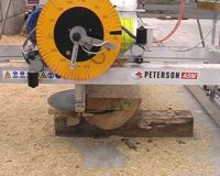 Push the mill through a maximum horizontal cut.