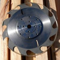 MicroKerf Blade for greater recovery from portable sawmill.