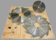 Selection of blades for Peterson Portable Sawmills.