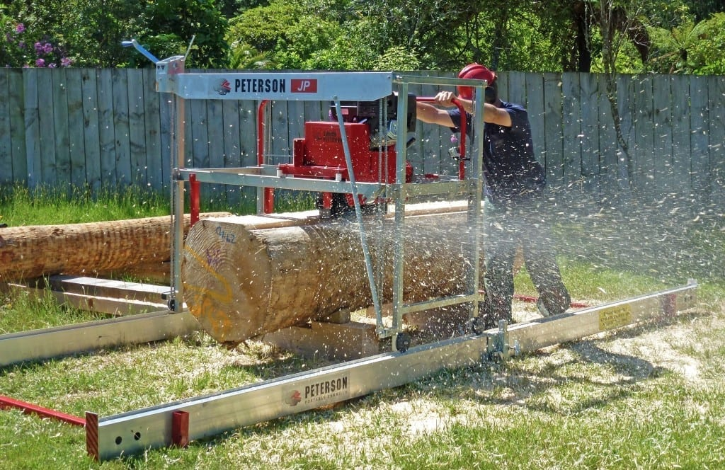 Small Sawmill - the Junior Peterson by Peterson Portable Sawmills