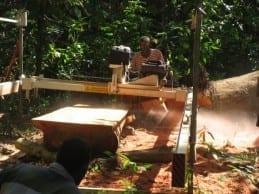 Korovatu & Skreds Manufacturing sasawmilling in Fiji.