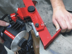 Sharpener for sawmill blades