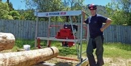 Positive Portable Sawmill reviews about the Junior Peterson