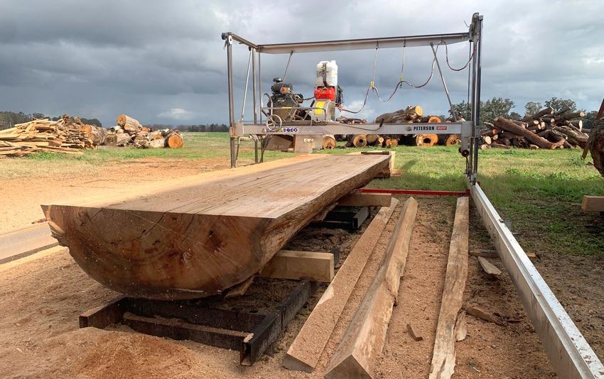 giant portable sawmill
