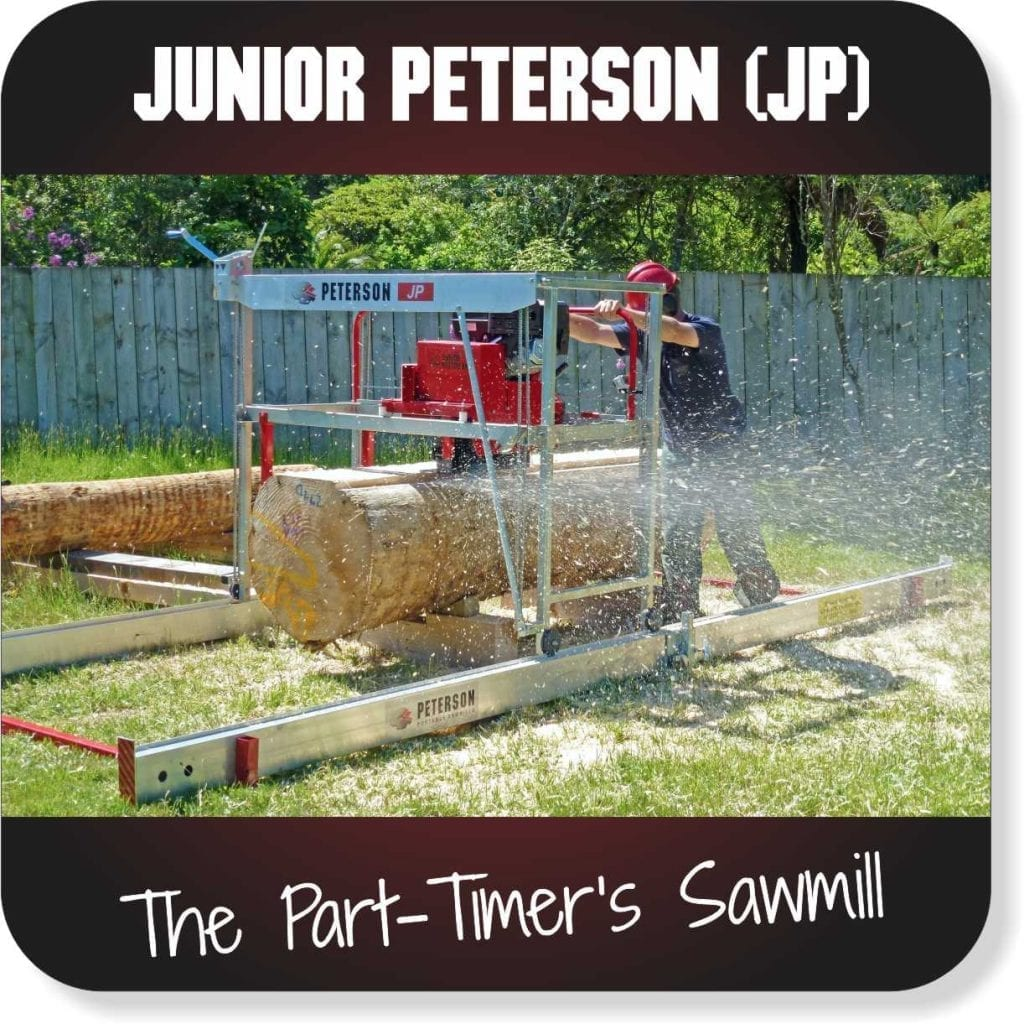 Portable Sawmills for sale - Junior Peterson Mill