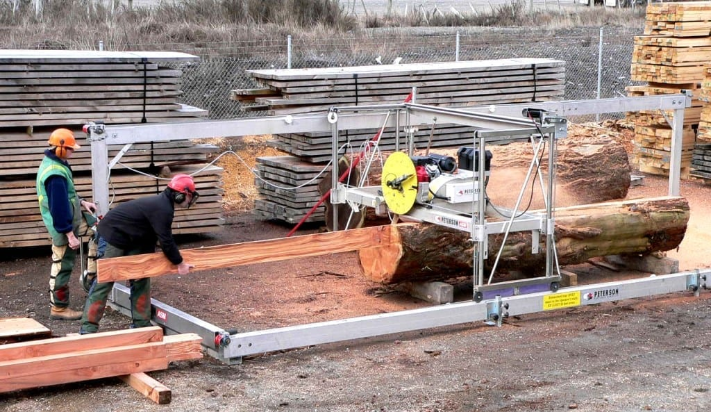 Automated Swingblade Portable Commercial Sawmill