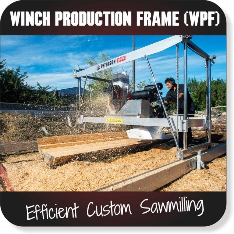 Portable Sawmills for sale - Winch Production Frame