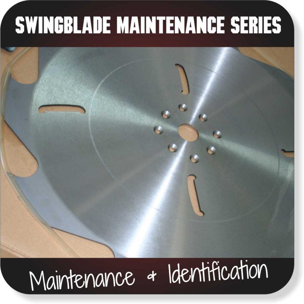 Swingblade Maintenance Series - Maintenance and Identification