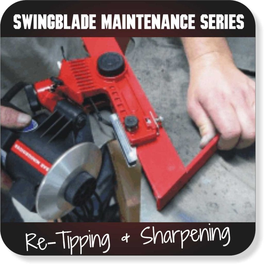 Swingblade Maintenance Series - Re-Tipping and Sharpening