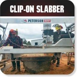 Portable Sawmill Clip-On Slabbing Accessory