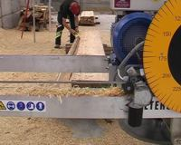 Remove the waste to maximise the double cut.