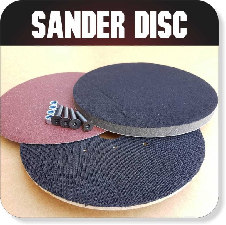 Portable Sawmill Accessories - Sander Disc
