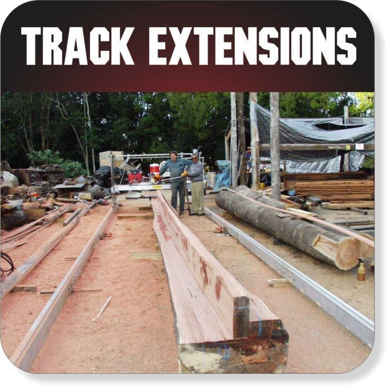 Portable Sawmill Accessories - Track Extensions