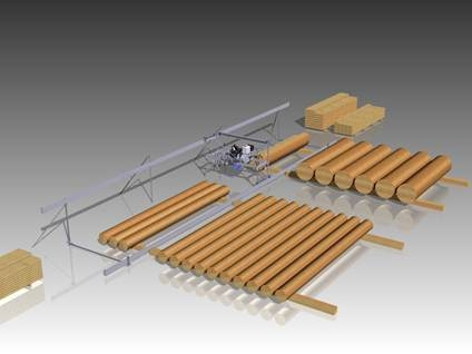 Double Track for high production sawmilling with the WPF