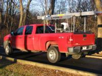 Paul Gregor's sawmill loaded on his truck.
