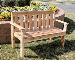 Building A Diy Garden Bench Peterson Sawmills