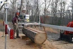 All Terrain Sawmill - the ultimate equipment for portable sawmilling