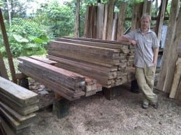 Quality sustainable harvested timber, ready to ship to USA.