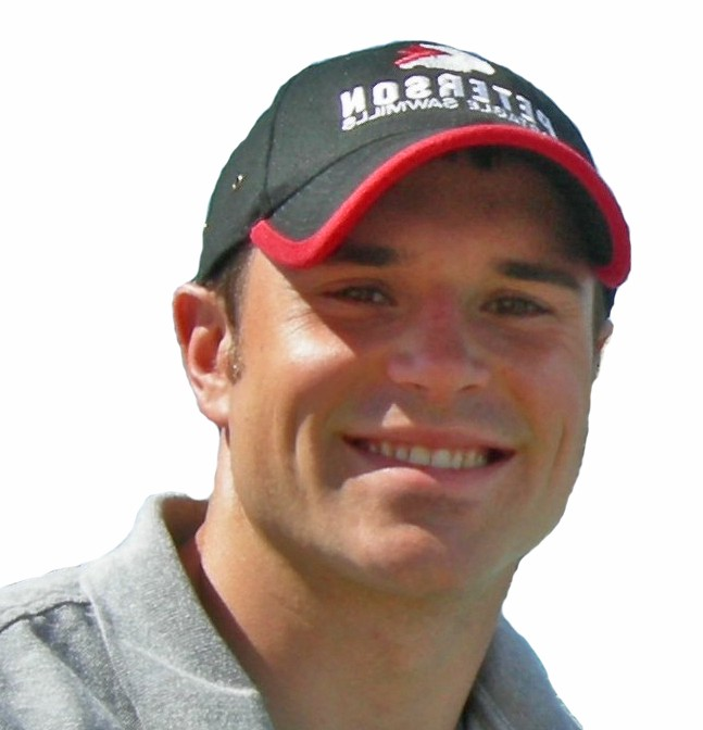 Timbersports competitor: Nathan Waterfield