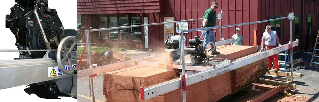 Peterson Sawmill Feature – Elevated Sawmill Engine