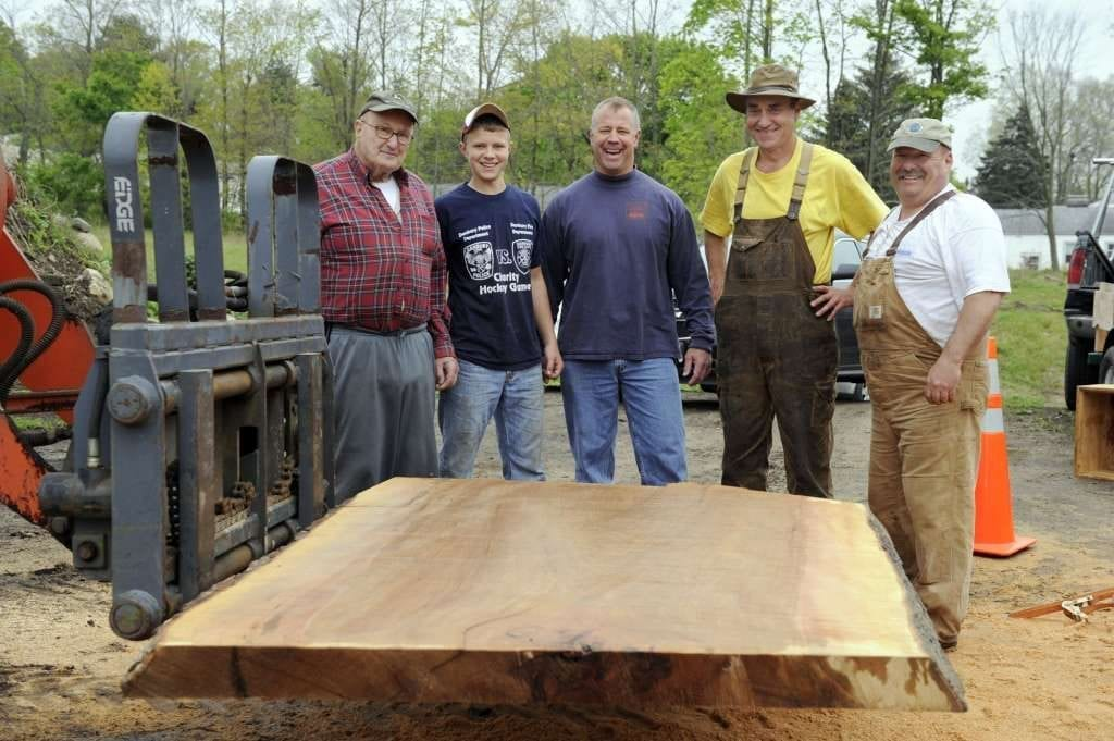 Slabber Mill Story featuring Dennis Hoover of Terrific Timbers