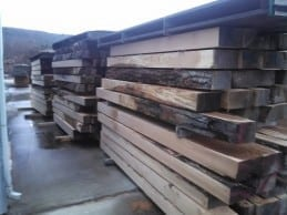 18,000 Broad feet of Red Oak milled with the ASM Sawmill