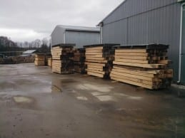 Cants milled with the ASM Sawmill