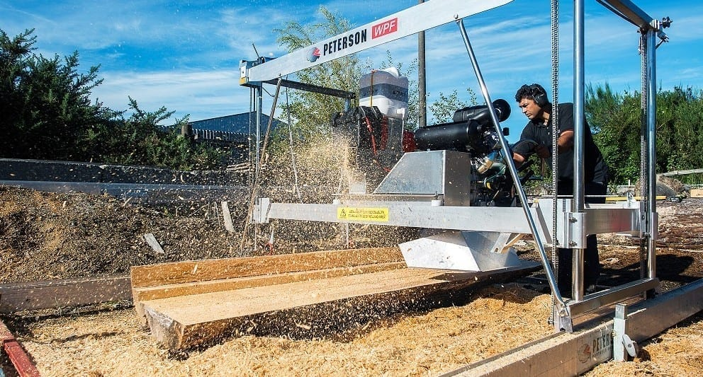 Durable, Efficient, Accurate and Productive Swing Blade Sawmill