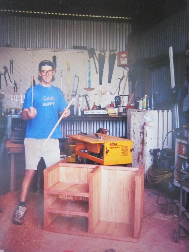 A future in sawmilling was just around the corner