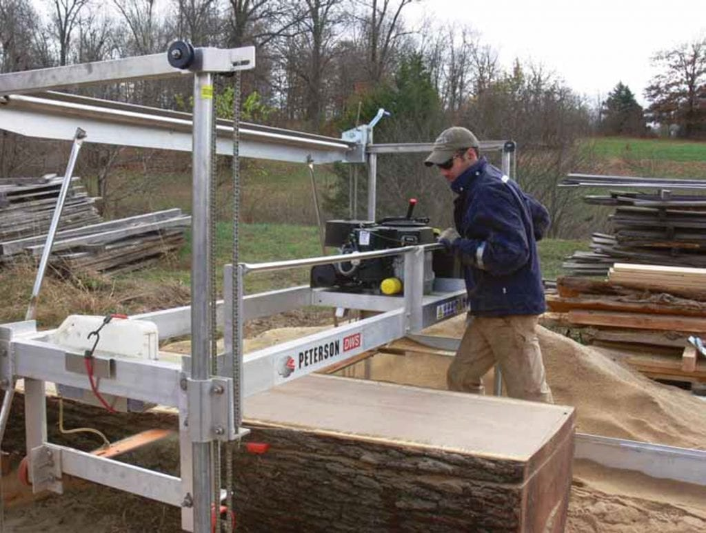Slabber Mill by Peterson Portable Sawmills