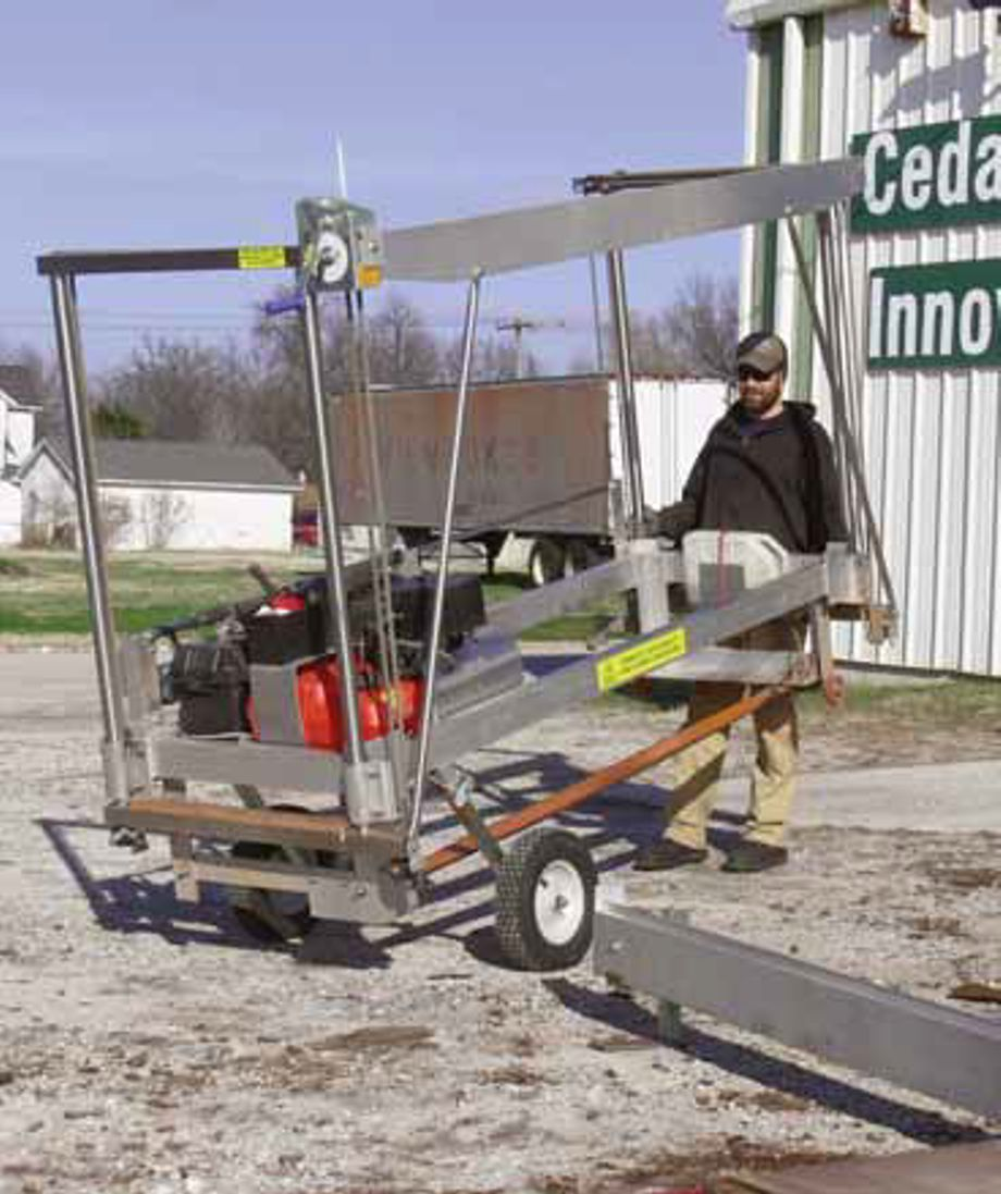 Slabber Mill by Peterson Portable Sawmills - Peterson
