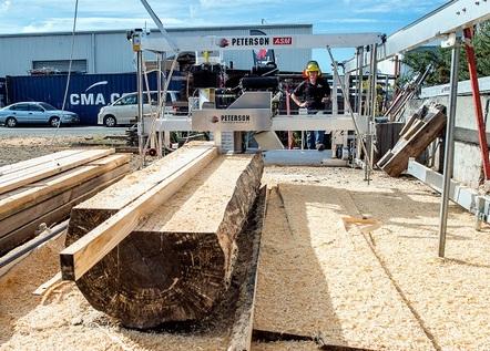 automatic portable sawmill
