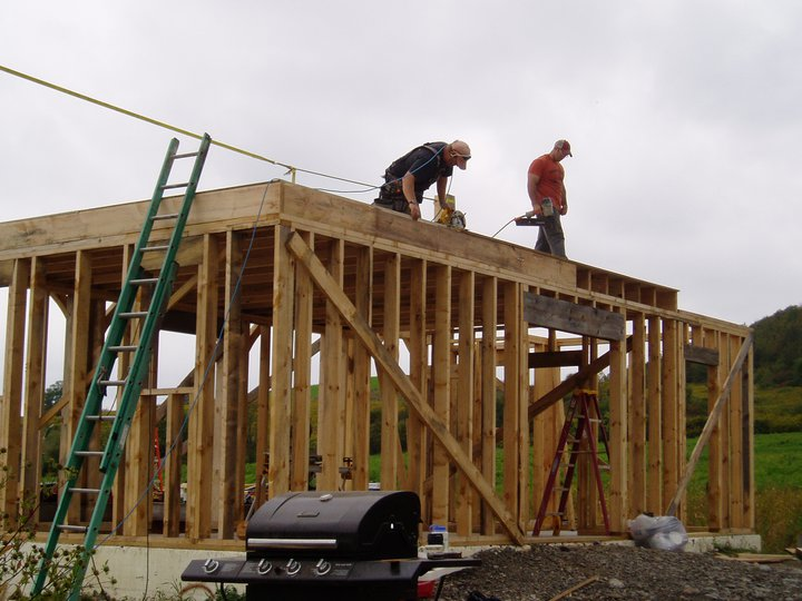 Nathan Waterfield's house build