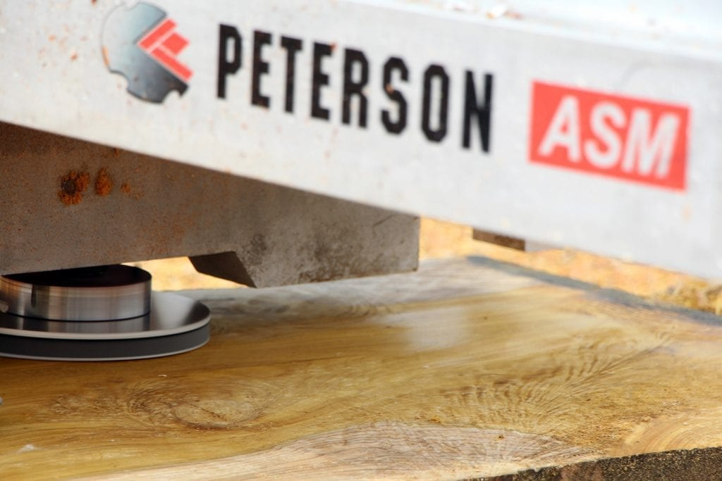 Wood Sander for Peterson Portable Sawmill