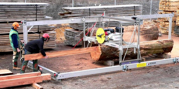 Portable Sawmills - High Quality Sawmills to Cut Logs into