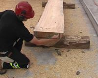 Double Cutting lumber