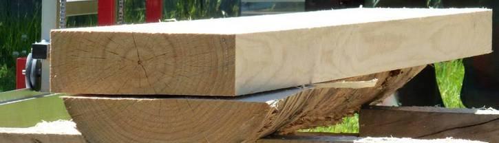 double cutting lumber
