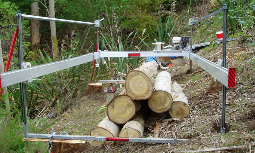 All terrain portable sawmills