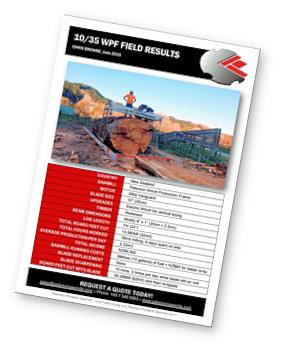 sawmill field results