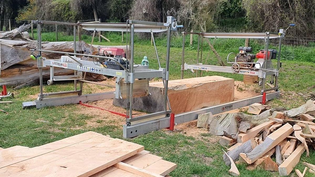 slabbing mill portable sawmill