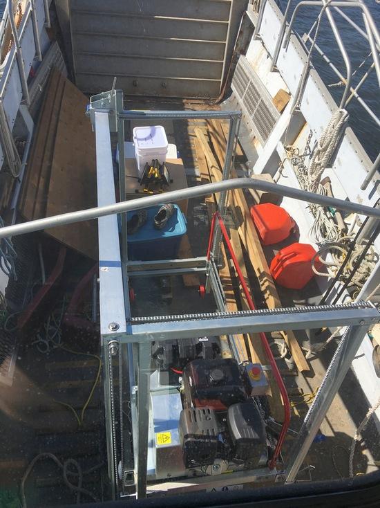 mobile sawmill transport