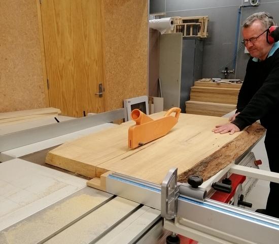 slab wood furniture